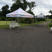 3m x 3m Industrial Pro 50+ Pop Up Gazebo (Inc: Top + Frame Only)